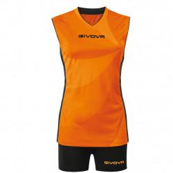 Volleyball uniform Givova KIT ELICA VOLLEY