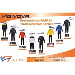 Special price for track suits