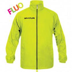 Givova Rain Jacket Basico Fluo 0019