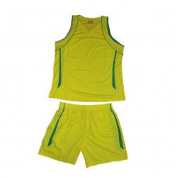 Style4Sport Yellow/green basketball unisex uniform