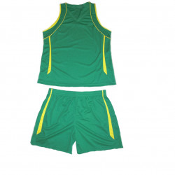 Style4Sport Green/yellow basketball UNISEX  uniform